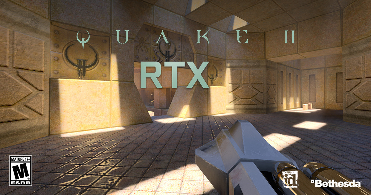 Quake II RTX is out now, and it's ready to eat your GPU