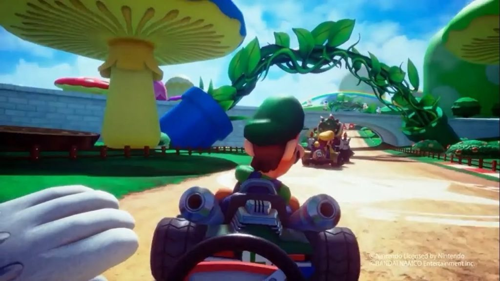 Mario Kart VR gets a new location in London